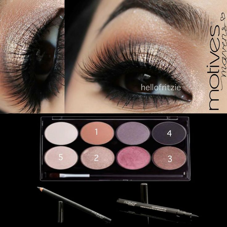 We love this look by Hellofritzie using our NEW Motives Mavens Palette! LIKE if you do too!  Get the look: -Motives Mavens Element Palette  -Motives for La La Mineral Khol Eyeliner in Black  -Motives Luxe Precision Liner in Jet Black  Motives  www.getyourlook.net