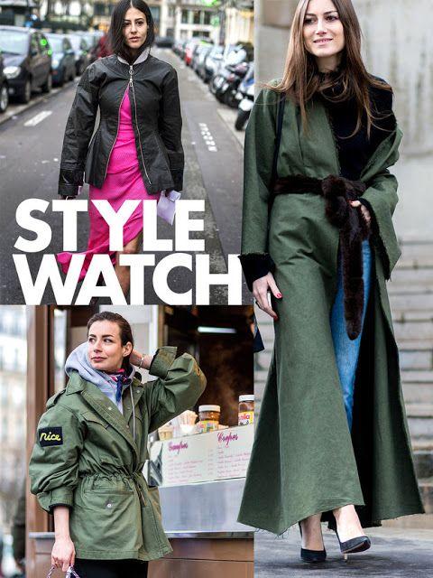 Fashion Beauty Express: 1着は欲しい。「ヒステリックグラマー」の本格ミリタリーコート