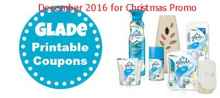 Glade coupons december