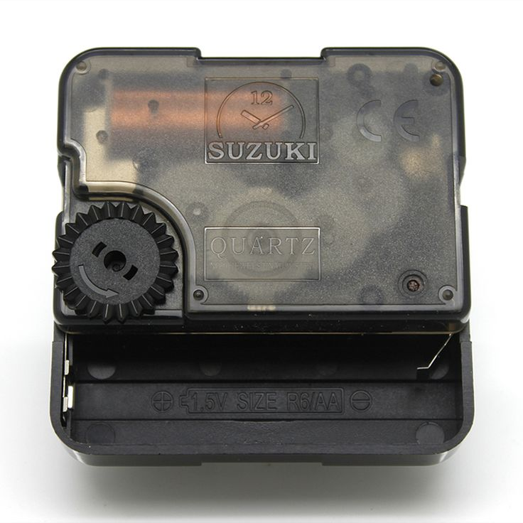 Suzuki Silent Movement Plastic Wall Clock Movement with hands Clock Accessory Quartz Clock Movement HS88 >>> Be sure to check out this helpful article. #HomeDecor