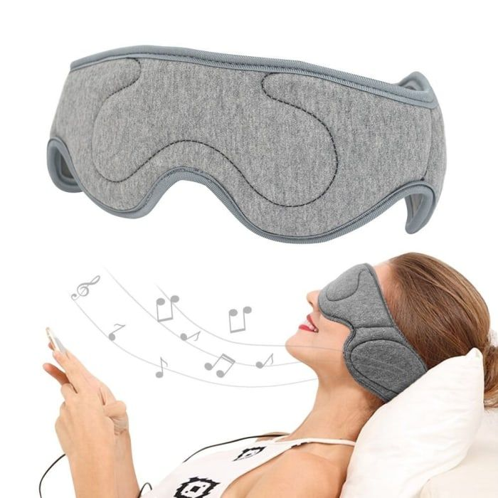 "Promising review: ""These are very comfortable headphones, especially for side sleeping. I can't sleep comfortably with my regular headphones and I need to listen to music while sleeping. These have really solved both of my problems!""– Amazon CustomerPrice: $28.90. Also available in navy blue, red, and dark grey."