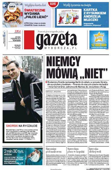 "EU-Russia tension: 'Germans say ""nyet""'   VoxEurop.eu: European news, cartoons and press reviews"