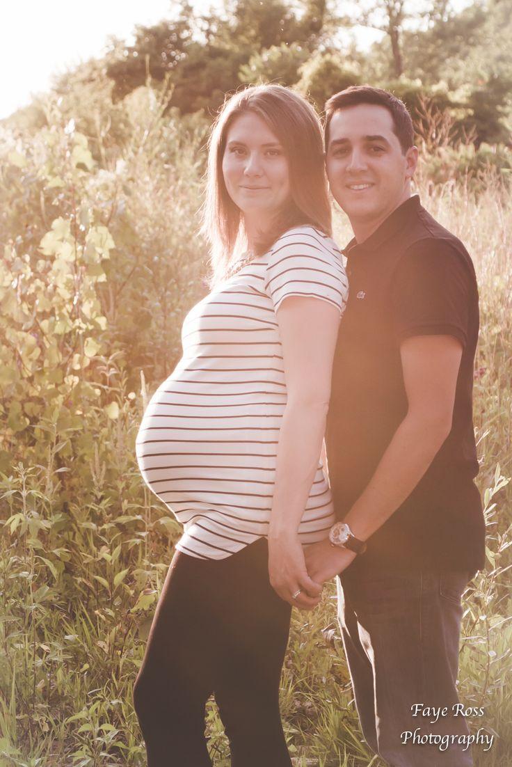 Golden Hour Oakville Maternity session