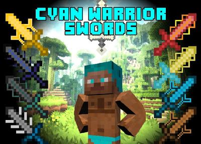 Download Minecraft Mod Cyan Warrior Swords 1.6.2/1.5.2 | Download Free Minecraf Mod