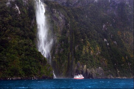 From Milford Sound, Fiordlands New Zealand. Happy New Year and all the very best for 2015.  Have a great night.  www.chilby.com.au