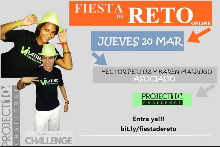 Nos preguntan mucho QUE ES EL RETO, como puedo ganar los 1,000 Dolares con el Project 10? DESCUBRELO! EL JUEVES 20 DE MARZO EN LA FIESTA DE RETO ONLINE. 8.00 PM http://bit.ly/fiestadereto   TU COMPLETAMENTE NUEV@, CON EL PROJECT 10 ESCRÍBENOS, PARA DEJARTE EL LINK DE ENTRADA.  EMAIL: elmundovi@gmail.com CEL: 3167079481- 3167310299  #Bodybyvi #Retode90Dias #TeReto #Projecto10 #Fitness #ViResultados #Transformacion #Salud #PerdidadePeso
