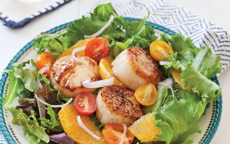 Superb Summer Salads: Seared Scallop Salad | Salads ...