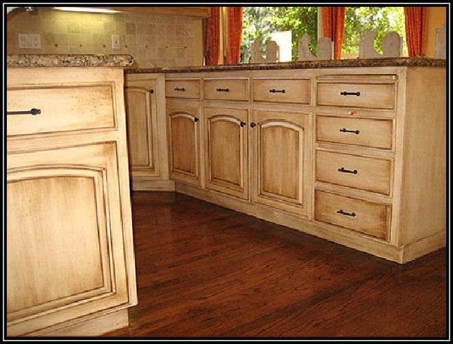 How to paint over wood stained kitchen cabinets - Painting over stained kitchen cabinets ...