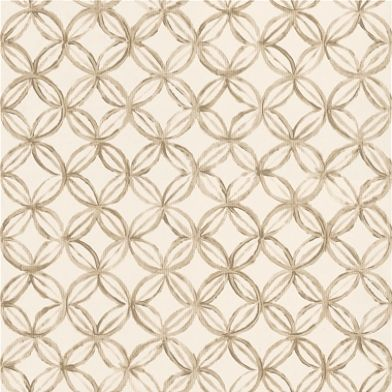 Ottelia (P572/06) - Designers Guild Wallpapers £50 per roll. A subtle modern geometric in cream and gold.