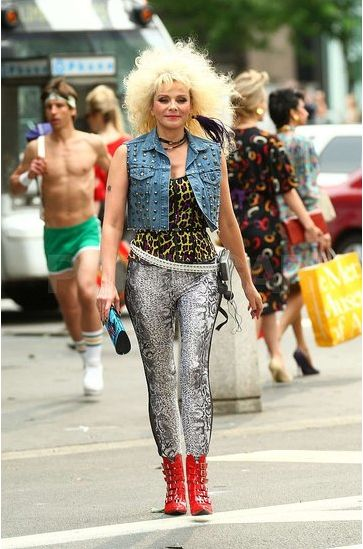 80's Costume Idea - Rocker Chic, Groupie