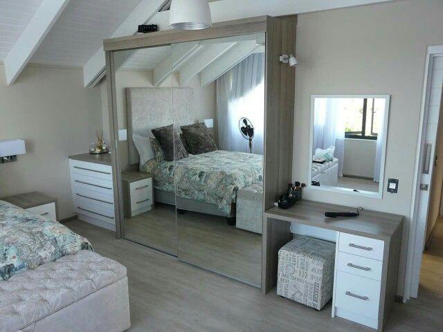 Coimbra Melamine & White high gloss acrylic bedroom units.