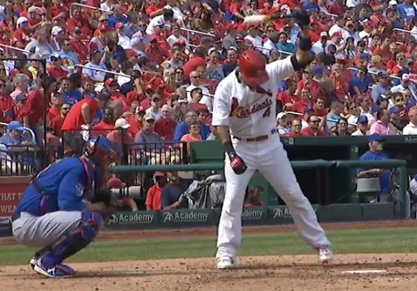 Report: Yadier Molina finalizing 3-year extension worth over $55 million  -  March 31, 2017   Yadier Molina