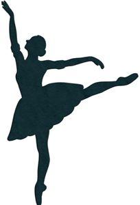 Silhouette Design Store - View Design #13901: ballerina silhouette