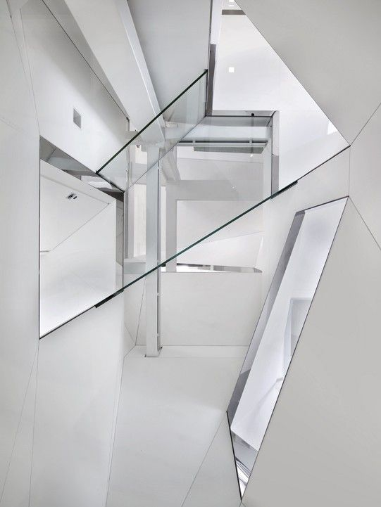 David Hotson Architect. Lower Manhattan Penthouse, NYC.