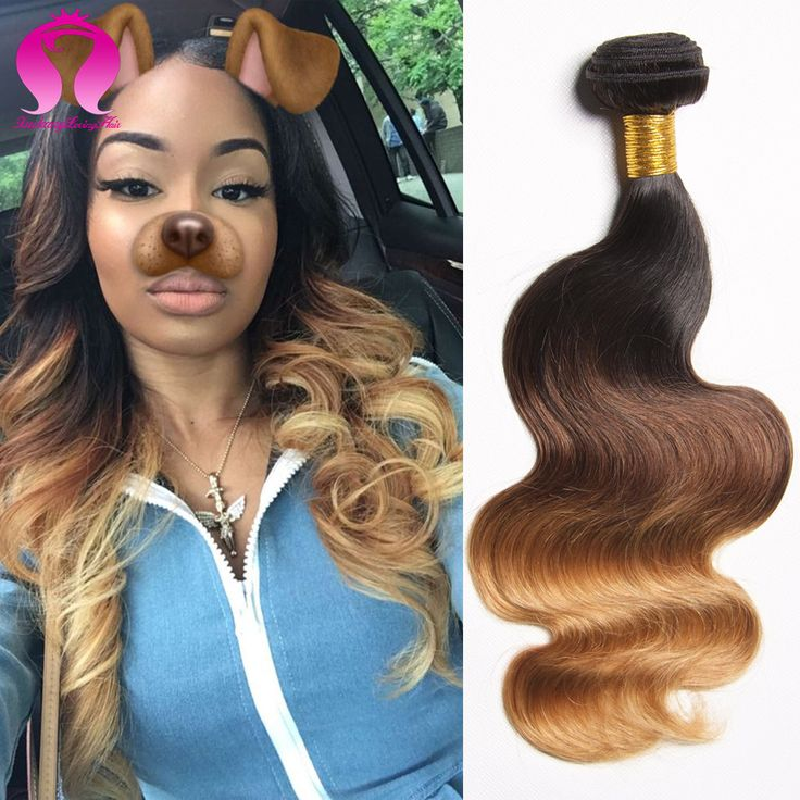 Annabelle Hair Peruvian Virgin Hair Body Wave 3 Bundle Tissage Peruvian Wet and Wavy Ombre Human Hair Blonde Ombre Peruvian Hair