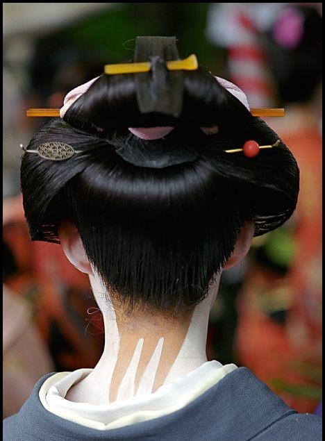 The Modern Geisha Geisha Hair Hair Pinterest