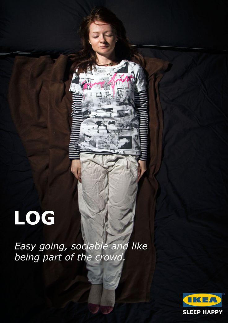 Sleep Happy - Ikea campaign by Leong Darren Abriel @ BA Creative Advertising, Falmouth University