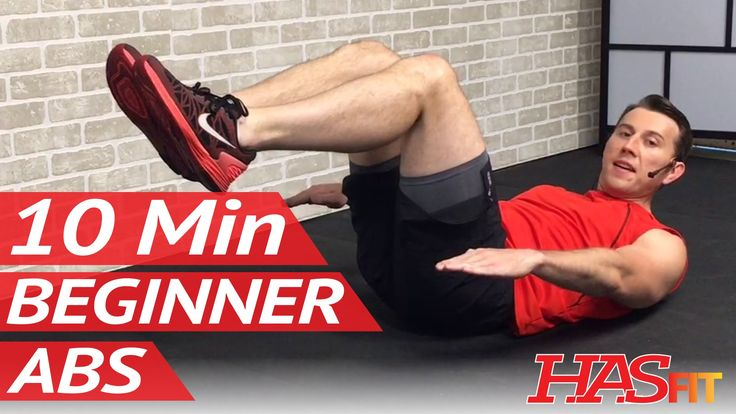 10 Min Easy Abs Workout for Beginners - Beginner Ab Workout for Women & Men at Home - Abdominal
