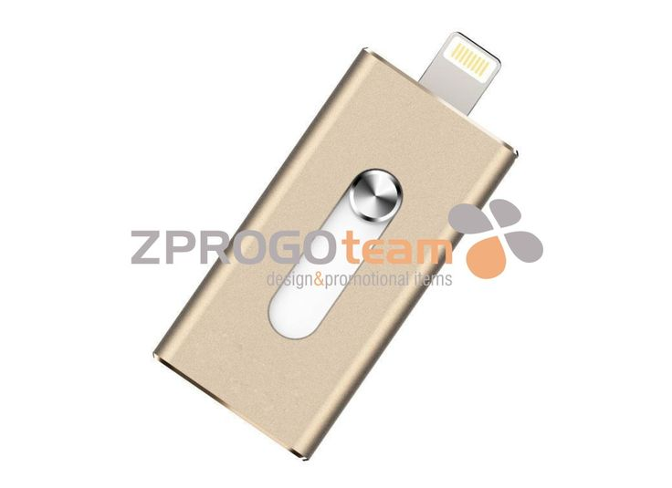 NOVINKA - NEW: If you have little storage memory is nothing simple than to get this high quality and very elegant OTG USB flash drive that is for iPhone / iPad / iPod and you're immediately more space.