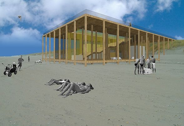 architecten van Mourik | strandpaviljoen