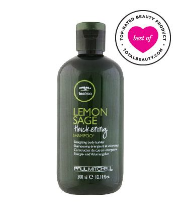 "Best Shampoo for Fine Hair No. 10: Paul Mitchell Lemon Sage Thickening Shampoo, $13.50 TotalBeauty.com Average Member Rating: 8.4*  Why it's great: ""I have used this product for over a year and there is a marked difference in my hair's quality,"" says a reviewer. Another fan writes, ""Not only does it add volume to your hair, you will never find a better-smelling shampoo."""