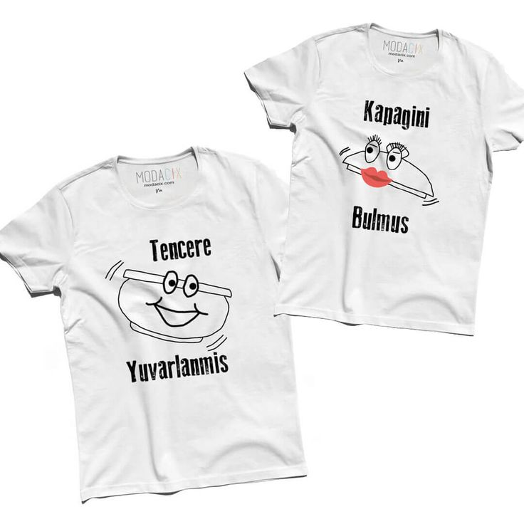 Tencere Kapak Sevgili Tişörtleri