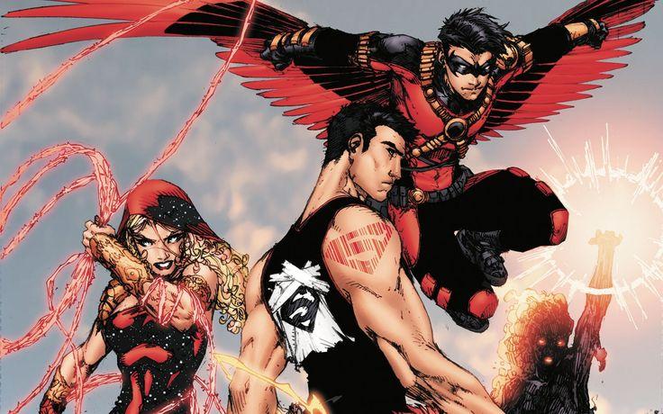 Free Download Teen Titans Wallpapers HD | PixelsTalk.Net