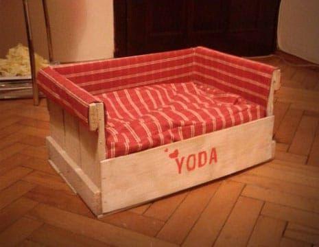 Resultado de imagen para como hacer camas de madera para perros perris lilac - Hacer camas para perros ...