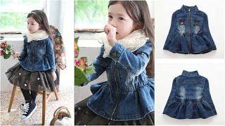 momsneed'shop: jaket jeans anak import - jeans jacket girl