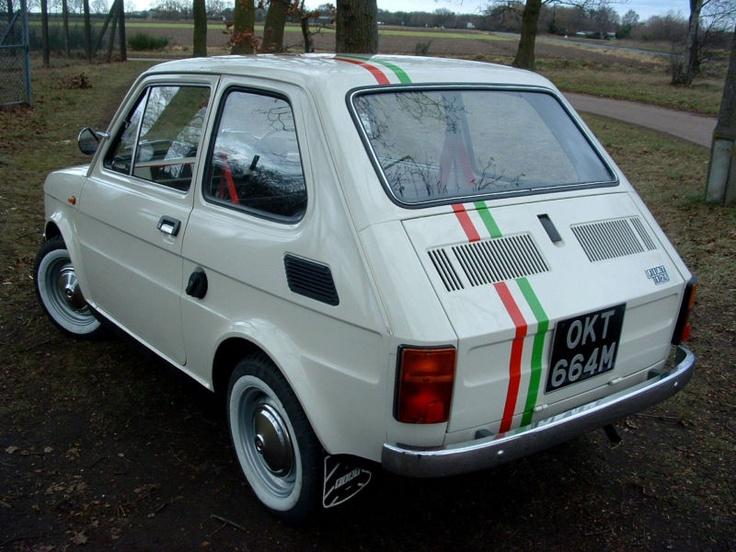 great restored fiat 126p italia
