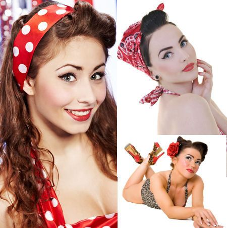Makijaz w stylu Pin-Up girl