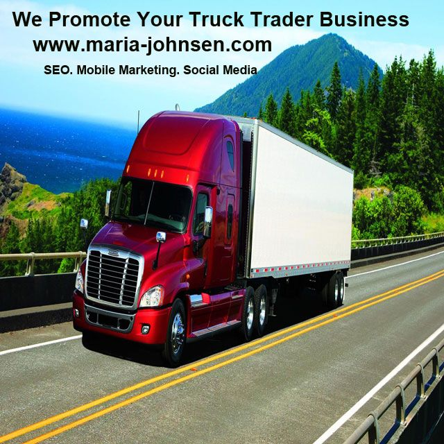 We promote your truck trader business