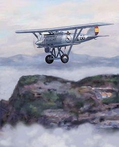 """El blog de """"Acebedo"""": El control del espacio aéreo en Asturias durante l..."""