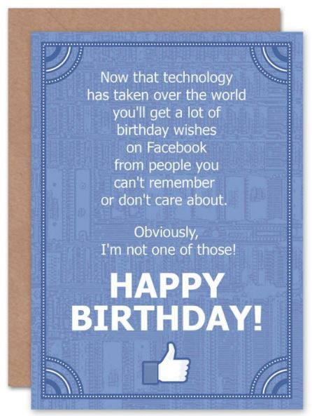 Facebook Birthday Cards Funny : facebook, birthday, cards, funny, Birthday, Facebook, Design, Template