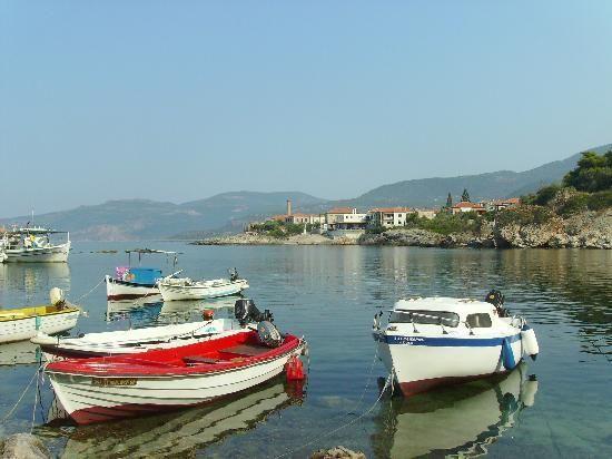 Kardamyli harbour