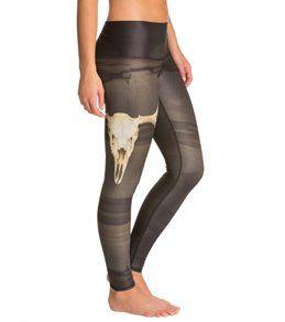 Teeki Deer Medicine Hot Yoga Leggings
