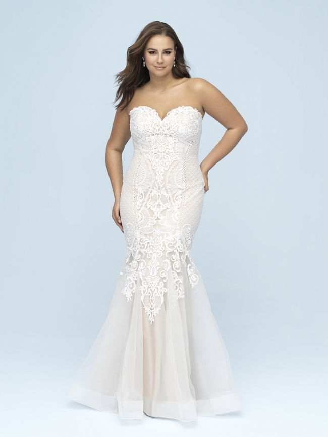 Plus Size Wedding Dress from Fantasy Bridal. Plus size ...