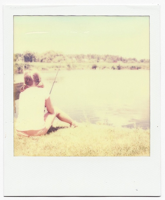 fishing: Yellow Zebco, Pole Dough, Canes Pole, Fishing I Remember, 12Th Birthday, Lakes Girls, Dads, Remember Fish, Hour Fish