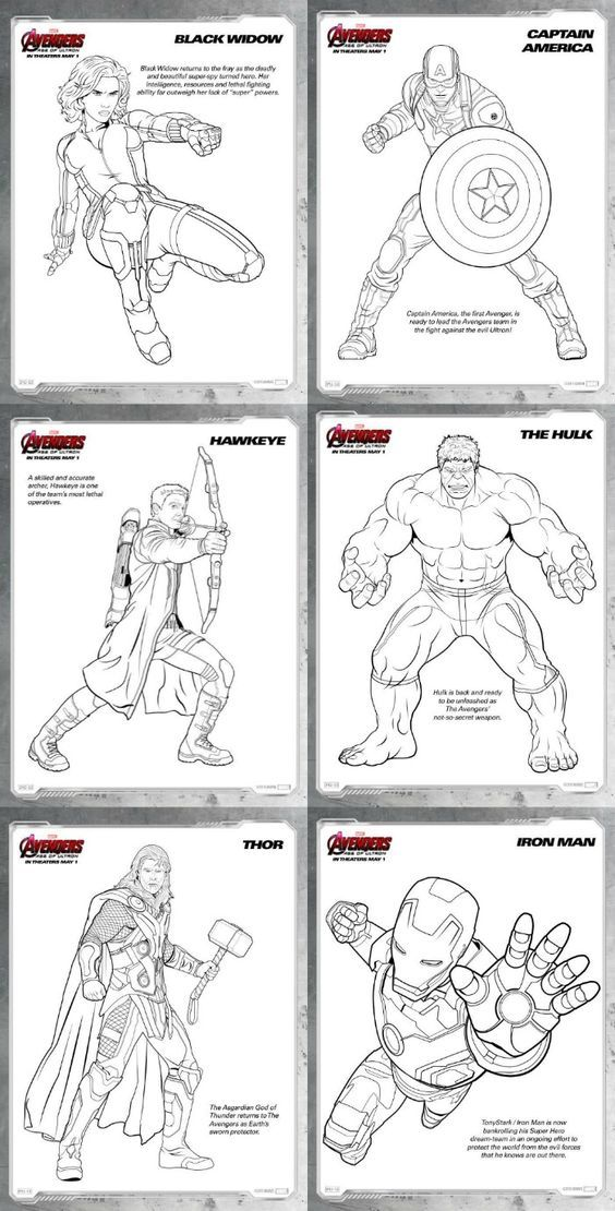 Avengers: Age of Ultron {Review and Free Printable Coloring Pages} #avengers #ageofultron: