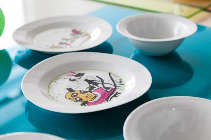 Misky Surprise pro děti  #BarboraŠimková #Bowl #Surprise #keramika #porcelán #ceramic #porcelain #design #czech #UJEP #FUD Barbora Šimková http://barborasimkova.tumblr.com simkova24@gmail.com https://cz.pinterest.com/simkova24/barbora-šimková/