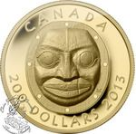 Canada: $200 Grandmother Moon Mask Gold Coin 2013