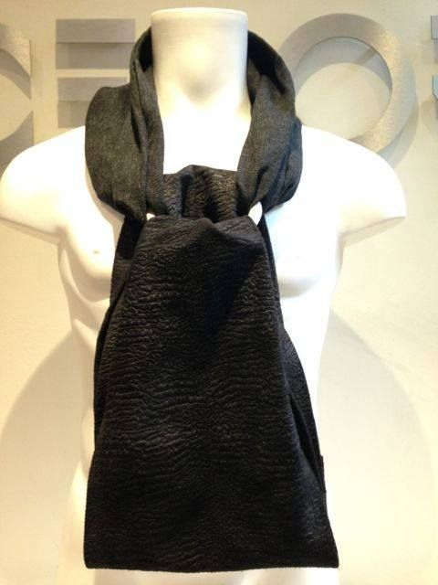 New type of men's scarf designed to enhance simplicity, stay functional and still have a very stylish design. Style name: Infinity  (front shot)