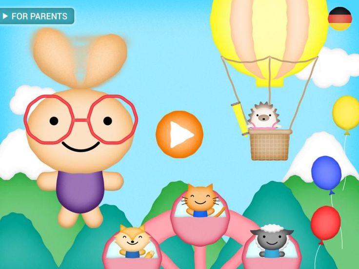 Eli Explorer - Sprach-Lernspiel App für kleine Kinder (iPad, iPhone)