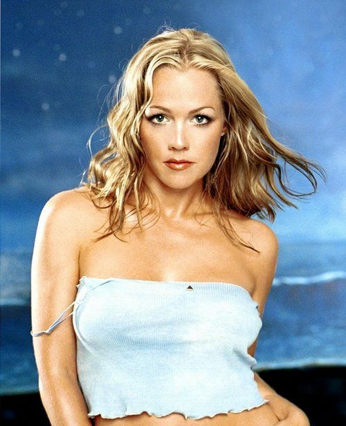 Jennie Garth in youth