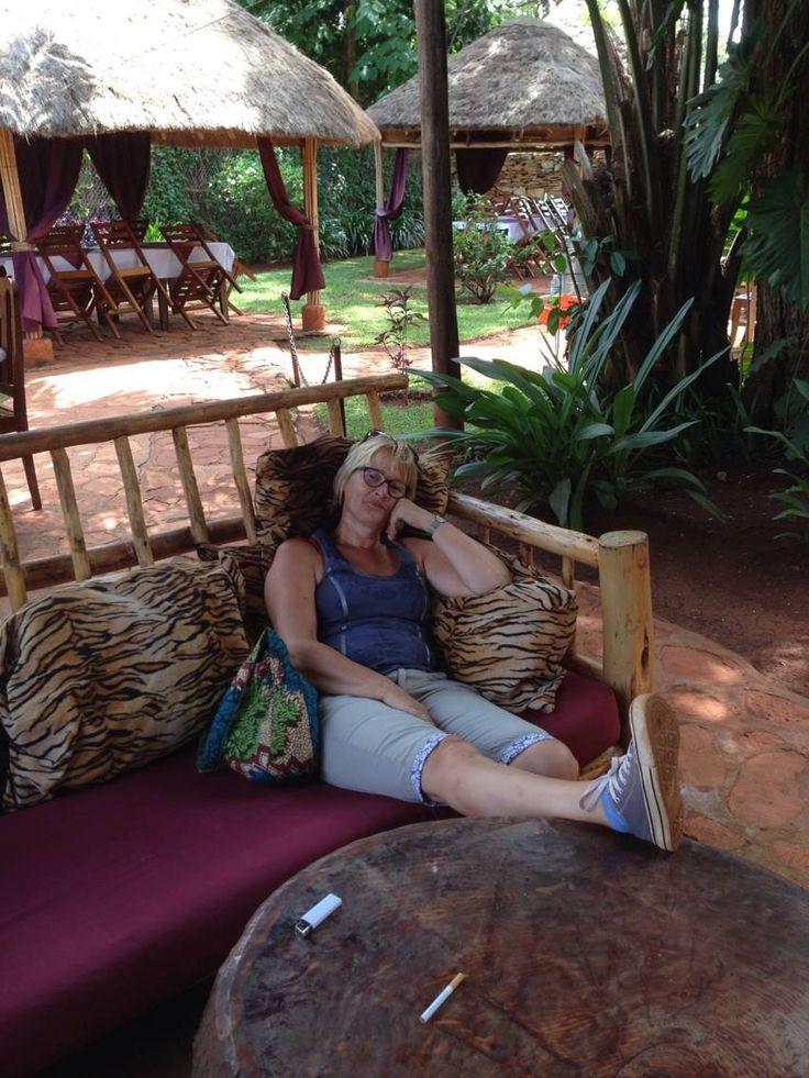 Bij Anneke op bezoek in Oeganda, nov 2013 (visiting Anneke in Uganda)