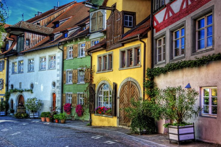 Meersburg / Bodensee, Germany.  Go to www.YourTravelVideos.com or just click on photo for home videos and much more on sites like this.