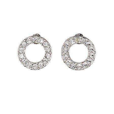 Pilgrim Jewellery Silver Plated Crystal Earrings Now £9.99 from Lizzielane.com http://www.lizzielane.com/product/pilgrim-jewellery-silver-plated-crystal-earrings/