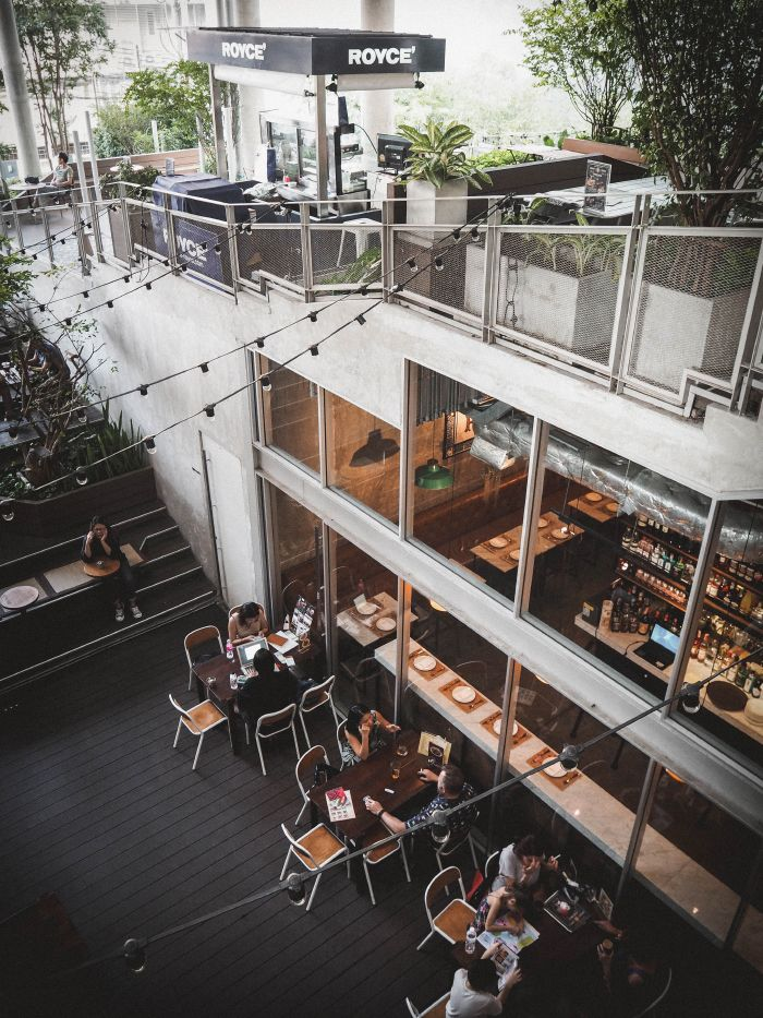 The commons - ravintolat Bangkok - Bangkok vinkit - Thaimaa 2017