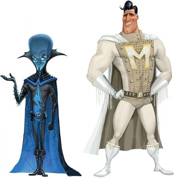 Megamind amp Metroman Game And Cartoon Characters