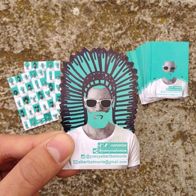 MisTarjetasPersonales #yosoycustomize  La idea es que cada uno/una personalice la tarjeta a su antojo.  Pinta, corta y comparte.  #yosoycustomize  #tarjetas #tarjetasdepresentacion #tarjetaspersonales #pinta #corta #comparte #indio #carnaval #carnaval2106